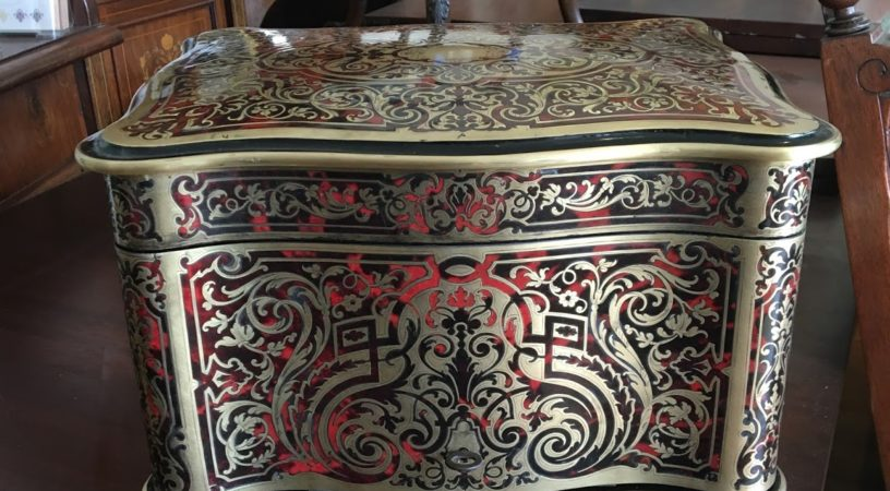 Boulle marquetry restoration