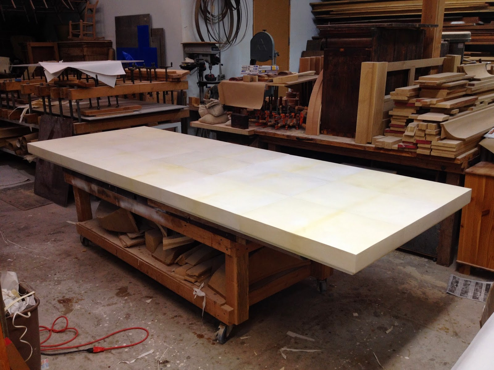 Parchment Table