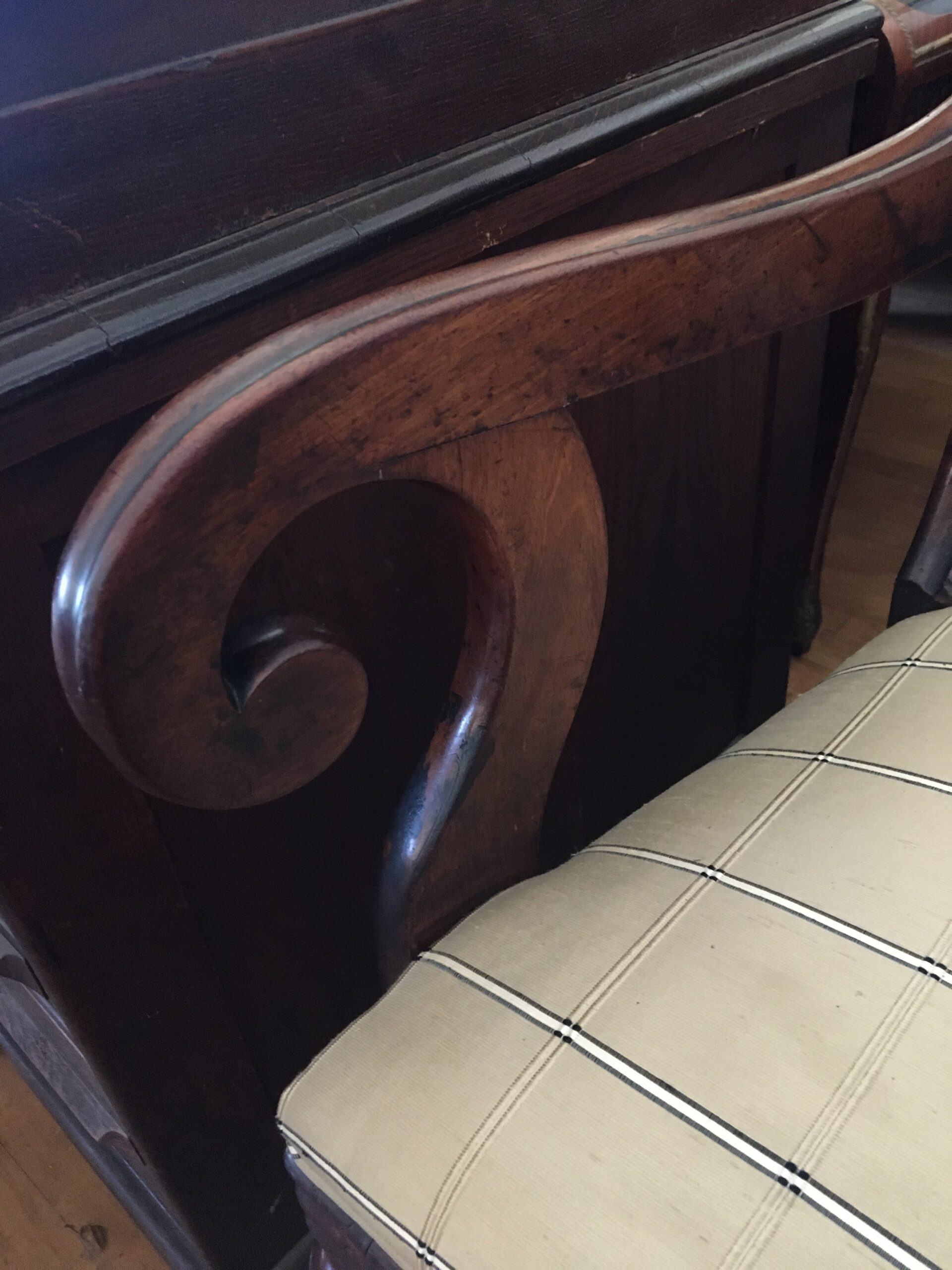 Armchair restoration